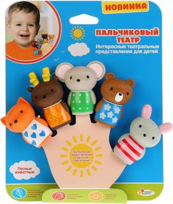 Набор игрушек для ванны Капитошка Животные леса набор игрушек для ванны alex сад 700gn