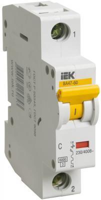 Картинка для Iek MVA41-1-006-D Авт.выкл. ВА 47-60 1Р 6А 6 кА х-ка D ИЭК