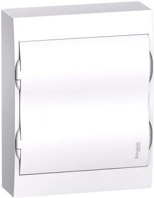Schneider-electric EZ9E212P2SRU Щит распределительный навесной белый дверь белая на 24 модуля IP40 Easy9