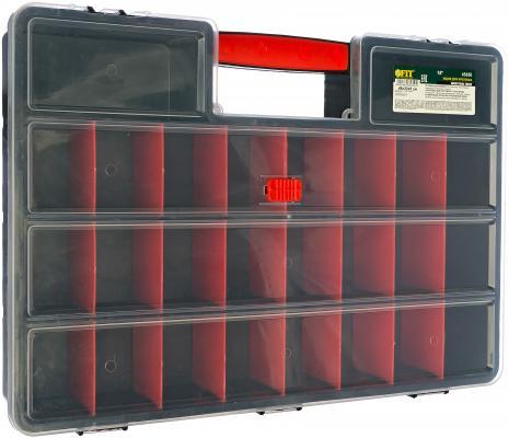FIT IT Ящик для крепежа (органайзер) 18 (46 х 32 х 8 см) [65650] ящик для инструмента fit 65572 пластиковый 16 41 х 22 х 19 5 см