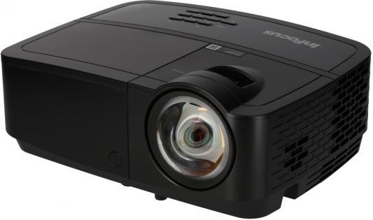 INFOCUS IN126STx {(Full 3D), DLP, 3700 ANSI Lm, 1280х800, 14000:1, 0.52:1 - короткофокусный, 2xVGA,HDMIv.1.4,S-Video,Composite,Stereo 3.5mm Mini Jack input,RS232C, RJ45, USB(Mini-B)} проектор optoma w345 dlp 3d 1280х800 3300 ansi lm