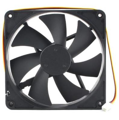Gembird Вентилятор 140x140x25 втулка, 3 pin, провод 40 см (D14025SM-3) вентилятор gembird 80mm d8015sm 3