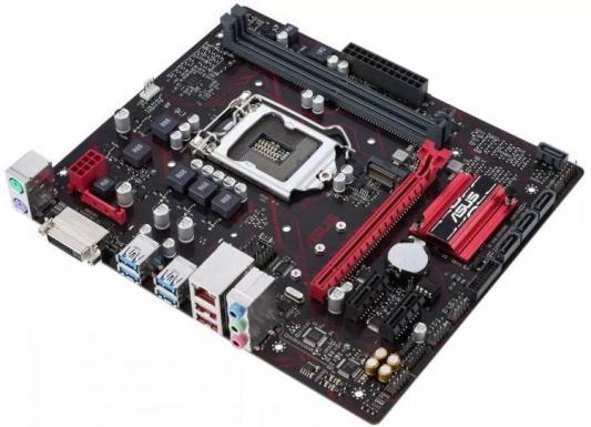 Материнская плата ASUS EX-B150M-V5/C/SI Socket 1151 B150 2xDDR3 1xPCI-E 16x 2xPCI-E 1x 4 mATX OEM стоимость