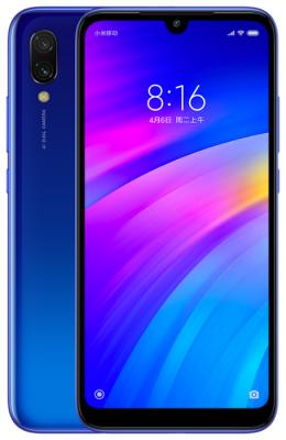 Смартфон Xiaomi Redmi 7 64 Гб синий (X22764) смартфон xiaomi redmi 5 plus 64 гб черный
