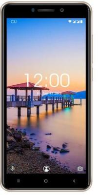 Смартфон Oukitel C10 Pro 8 Гб золотистый смартфон oukitel c10 pro 8 gb черный