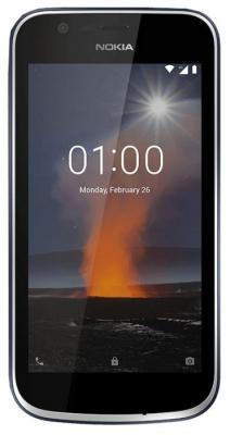 Смартфон NOKIA 1 8 Гб синий (11FRTL01A08)