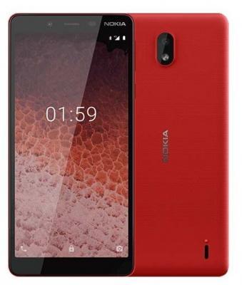 Смартфон NOKIA 1 Plus 8 Гб красный цена и фото