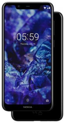 Смартфон NOKIA 5.1 Plus 32 Гб черный (11PDAB01A01) смартфон cat s60 32 гб черный