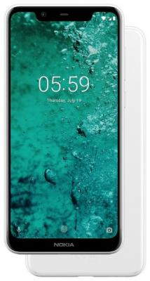 Смартфон NOKIA 5.1 Plus 32 Гб белый (11PDAW01A01) смартфон