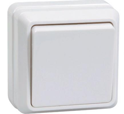 Выключатель IEK EVO13-K01-10-DC 10 A белый