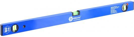 Уровень КОБАЛЬТ 243-066 800мм 1мм/м 3 глазка магнит строительный уровень irwin 1950мм 800мм 2000 box beam