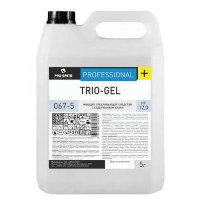 Средство моющее для ежедневной уборки DR.SCHNELL PRO-BRITE TRIO-GEL 5л средство моющее для ежедневной уборки dr schnell pro brite trio gel 5л