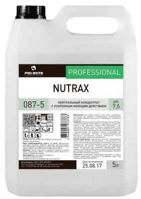 Средство моющее универсальное DR.SCHNELL PRO-BRITE NUTRAX, 5л средство моющее универсальное dr schnell spray cleaner 5л