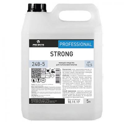 Средство моющее для пароконвектоматов PRO-BRITE STRONG 5л средство для мытья стекол pro brite glass cleaner 5л