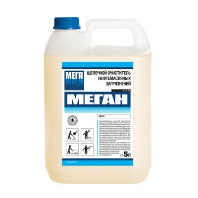 Средство моющее для удаления нефтемаслянных и пигментных загрязнений МЕГА МЕГАН 5л rm 555 универсальное моющее средство