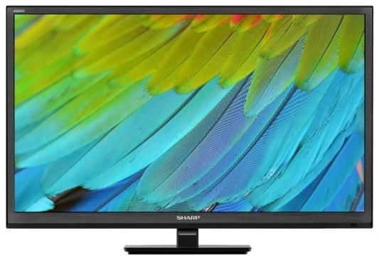 "Телевизор LED Sharp 24"" LC24CHF4012E черный/HD READY/100Hz/DVB-T/DVB-T2/DVB-C/USB цена и фото"
