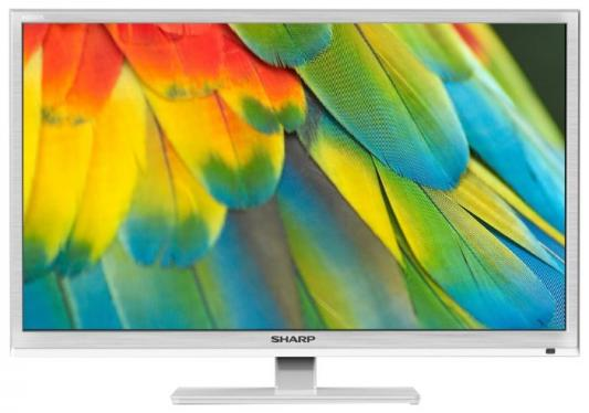"лучшая цена Телевизор LED Sharp 24"" LC24CHF4012EW белый/HD READY/100Hz/DVB-T/DVB-T2/DVB-C/USB"