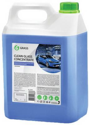 Фото - Средство для мытья стекол и зеркал 5 кг GRASS CLEAN GLASS CONCENTRATE, нейтральное, концентрат, 130101 очиститель стекол grass clean glass голубая лагуна 600мл