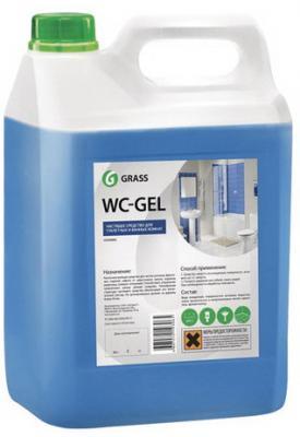Фото - Средство для уборки сантехнических блоков 5,3 кг GRASS WS-GEL, кислотное, гель, 125203 grass гель универсальный dos gel 5 3 кг