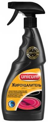 Средство для чистки плит, духовок и стеклокерамики 500 мл, UNICUM (Уникум), спрей, 300049 цена и фото