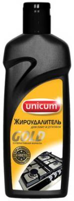 Средство для чистки плит, духовок, грилей от жира/нагара 380 мл, UNICUM (Уникум) Gold, 300346 средство для удаления жира unicum gold 380 мл