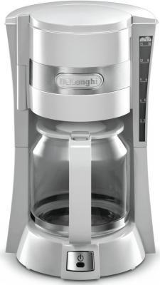Кофеварка DeLonghi ICM15210.1W белый