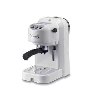 лучшая цена Кофеварка эспрессо Delonghi EC251.W 1100Вт белый
