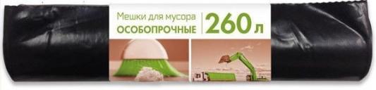 МЕШКИ ДЛЯ МУСОРА ОСОБОПРОЧНЫЕ 260 Л РУЛОН 10 ШТ. (4) КОНЦЕПЦИЯ БЫТА мешки для мусора удачные 180 л рулон 10 шт 12 концепция быта