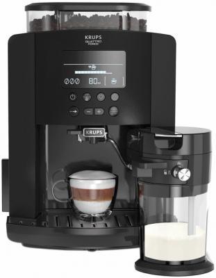 Кофемашина Krups Arabica Latte EA819N10 1450Вт черный цена