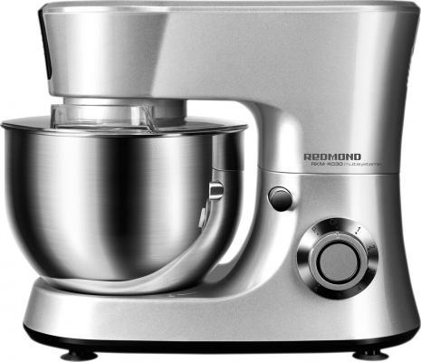 Кухонный комбайн Redmond RKM-4030 серебристый кухонный комбайн redmond rfp 3909