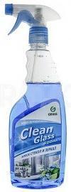Фото - СРЕДСТВО ДЛЯ МЫТЬЯ СТЕКОЛ И ЗЕРКАЛ CLEAN GLASS (ГОЛУБАЯ ЛАГУНА) 0,6 Л (1/12) GRASS очиститель стекол grass clean glass голубая лагуна 600мл