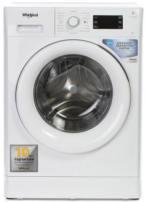 Фото - Стиральная машина Whirlpool Fresh Care FWSG61053WV класс: A+++ загр.фронтальная макс.:6кг белый стиральная машина whirlpool fwsg 61283 wc