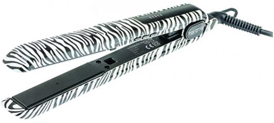 Щипцы-выпрямитель Harizma Style Colors чёрный белый H10336LED-01