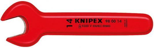 Ключ рожковый KNIPEX KN-980012 (12 мм) 125 мм накидной ключ 1000 v 12 мм knipex kn 980112