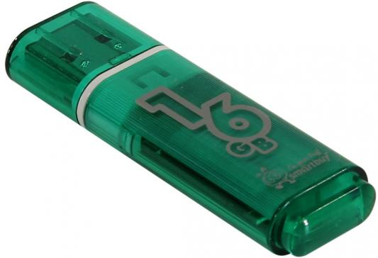 Фото - Флешка 16Gb Smart Buy Glossy USB 2.0 зеленый SB16GBGS-G флешка 32gb smart buy crown usb 3 0 синий sb32gbcrw bl