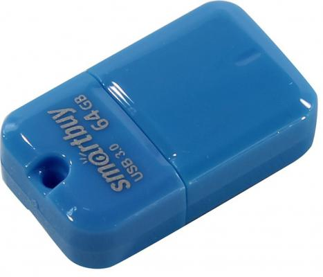 Флешка 64Gb Smart Buy ART USB 3.0 синий SB64GBAB-3 08138 e14 6w 4500k led g45 6w nw e14 fr alm01wh