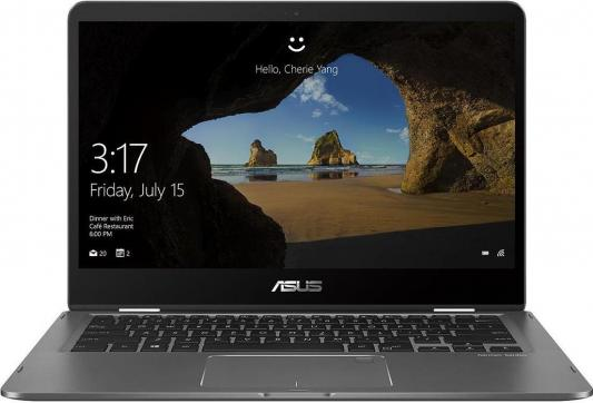ASUS UX461FA-E1041T Touch +bag+cable+Stylus 14(1920x1080 (матовый))/Touch/Intel Core i7 8565U(1.8Ghz)/8192Mb/512SSDGb/noDVD/Int:Intel UHD Graphics 620/Cam/BT/WiFi/bag/war 2y/1.4kg/Slate Grey/W10 asus flip ux561un bo056t touch 15 6 1920x1080 touch intel core i5 8250u 1 6ghz 8192mb 512ssdgb nodvd ext nvidia geforce mx150 2048mb cam bt wifi war 2y 1 9kg pure silver w10