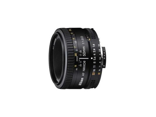 Объектив Nikon 50mm f/1.8D AF Nikkor (JAA013DA) объектив sigma nikon af 30 mm f 1 4 dc hsm art