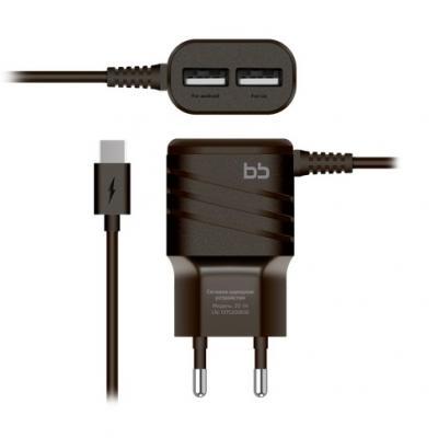 Сетевое зарядное устройство Nobby BB-TC-20-14 USB-C 2А черный