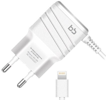 цена на Сетевое зарядное устройство Nobby 9854 8-pin Lightning 2А белый 015-001