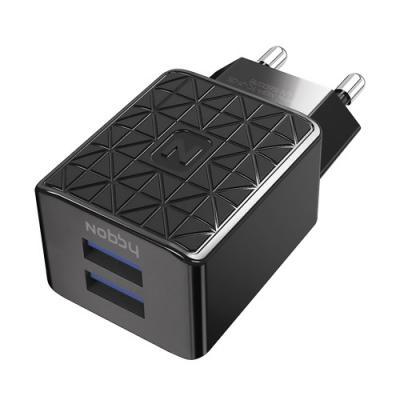 Сетевое зарядное устройство Nobby Practic USB-C 2.1A черный NBP-TC-21-05 зарядное