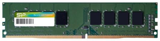 Оперативная память 4Gb (1x4Gb) PC4-21300 2666MHz DDR4 DIMM CL19 Silicon Power SP004GBLFU266N02 оперативная память 4gb 1x4gb pc4 21300 2666mhz ddr4 dimm cl19 transcend jm2666hlh 4g