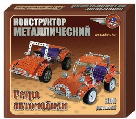 Фото - Металлический конструктор Ретро-авто, в/к 23*20*3,5 авто