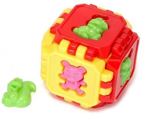 Конструктор best toys Пазл-Куб М пазл best toys животные 6 элементов