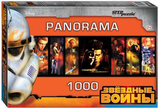 Купить Пазл 1000 DISNEY Звёздные войны Panorama 40х27х5, 5 см, best toys, Пазлы-картины