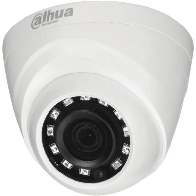 Камера видеонаблюдения Dahua DH-HAC-HDW1000RP-0280B 2.8-2.8мм цветная корп.:белый