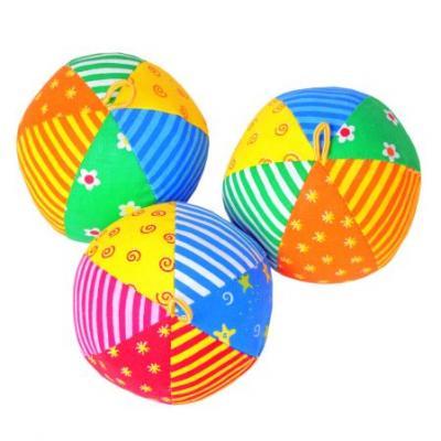 Игрушка мяч с погремушкой (Радуга) 22*17*10 см