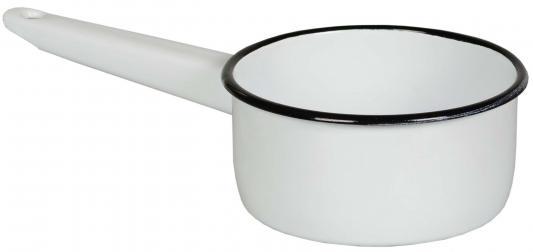 Ковш СТАЛЬЭМАЛЬ 2С22 14 см 1 л эмалированная сталь кружка эмалированная стальэмаль клубника 1 л