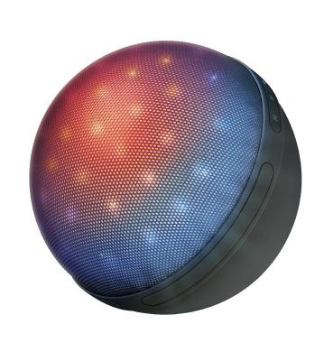 Trust Dixxo Orb Bluetooth Wireless Speaker with party lights (22014) vina ms 319 portable outdoor wireless bluetooth v4 0 nfc mini speaker for iphone more orange