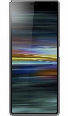 Смартфон SONY Xperia 10 Dual 64 Гб серебристый (1318-5903)